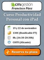 Curso Productividad Personal con iPad